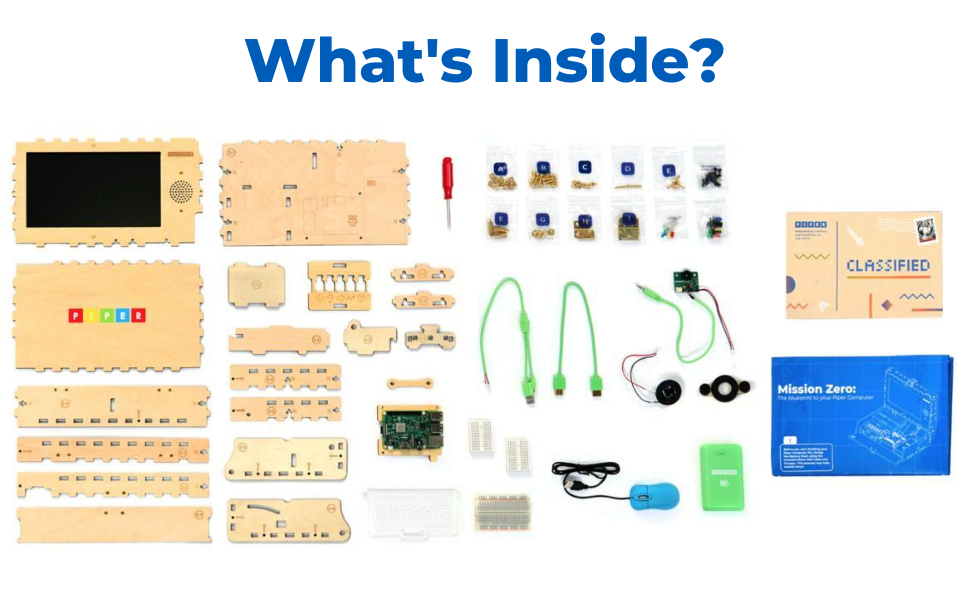 What's Inside the Piper Computer Kit?