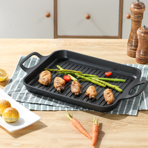 300-300-3 grill pan with dual handles