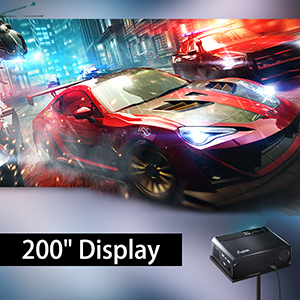 "200"" Display"