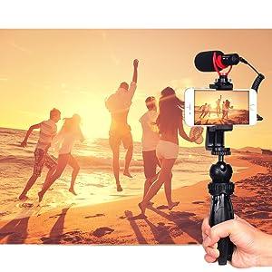 feelworld microphone, boya microphone, boya by-mm1+,video microphone kit ,On-Camera Condenser Record