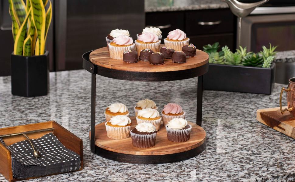 Cupcake stand, cake stand, cupcake stand with handle