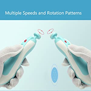 Multiple Speeds and Rotation Patterns