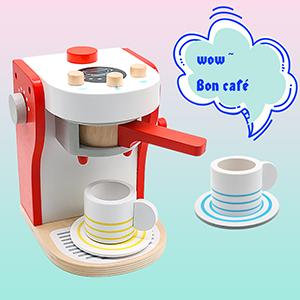 yoptote Jeux Imitations Enfants Machine a Cafe Kit Cuisine