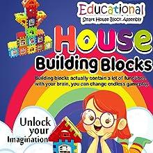 Education toys building blocks house blocks