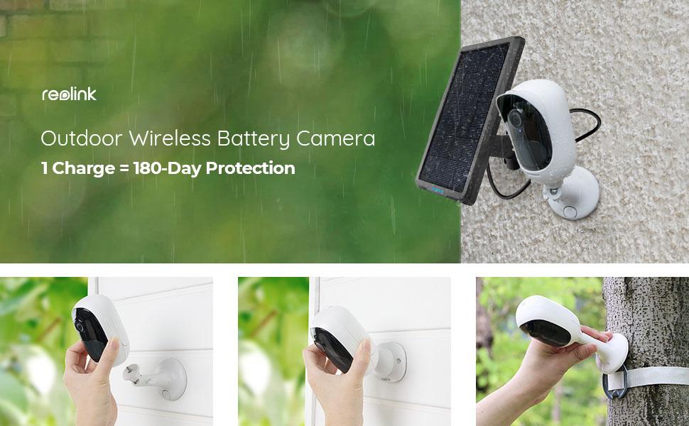 outdoor wireless battery camera