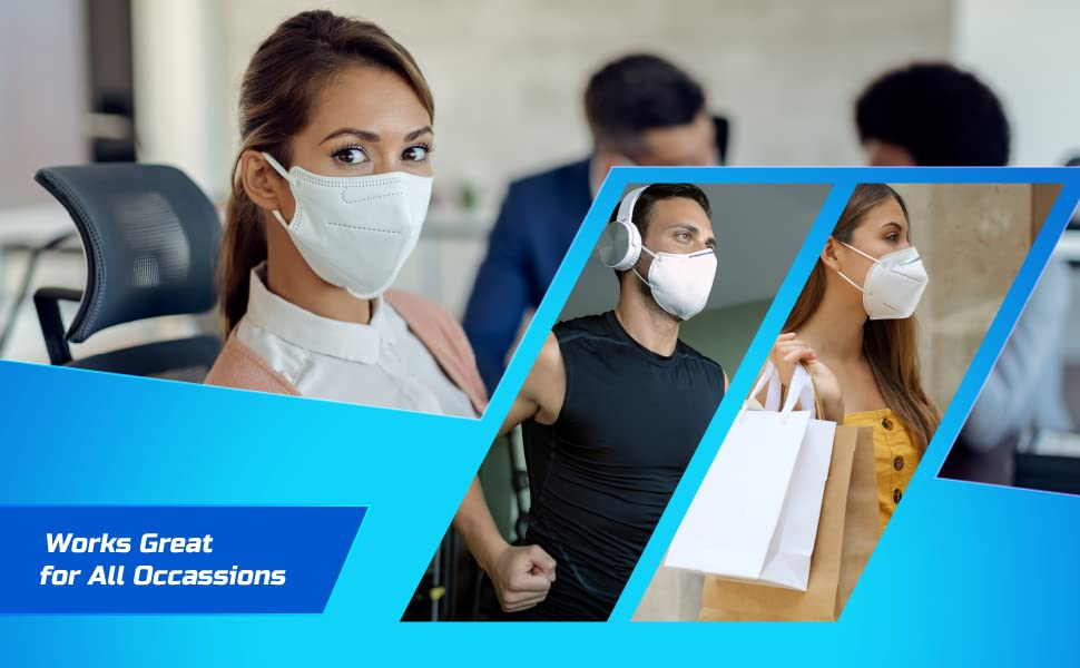 KN95 Quality Disposable Face Masks