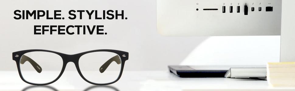 Blue light blocking glasses blue light filer women men unisex eyewear classic professional casual