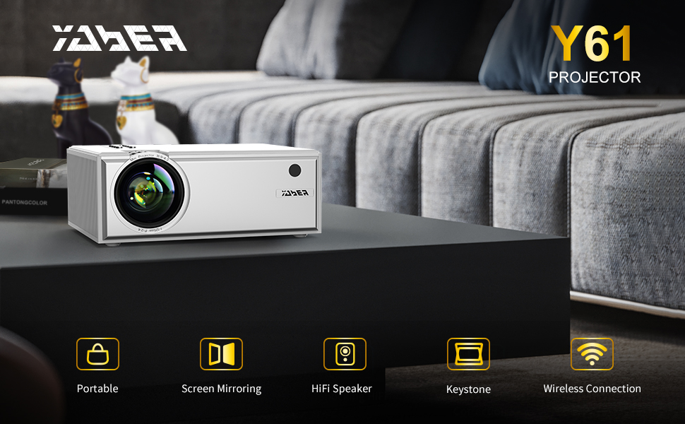 YABER WIFI PROJECTOR