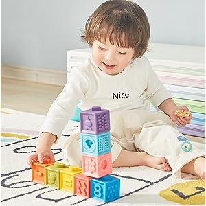 Baby Building Stacking Blocks