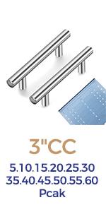 Satin Nickel Kitchen Cabinet Handles Brushed Nickel Cabinet Pulls Drawer Pulls  Cabinet Hardware