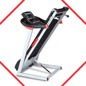FITNESS WORLD T-2 Motorised Treadmill for Home and Gym, Health & Fitness Exercise Treadmill SPN-FOR1