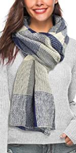 ideal para invierno abrigo con dise/ño de tortuga chal para mujer UMIPUBO Bufanda para mujer de invierno jersey