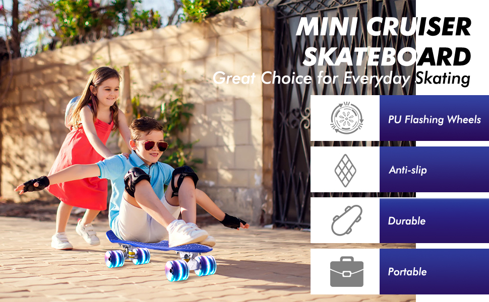 skateboard for kids ages 6-12