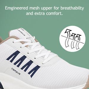 Emgineered mesh upper