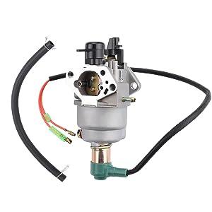 mannial carburetor carb fit powermax & duromax xp8500e xp8500e ca xp10000e xp10000e ca wen power pro 56875 8750e 8750 56877 9000e 56900 9000 420cc loncin generator homelite 2 5kw generator engine timing #13