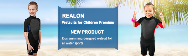 kids wetsuit for boys and girls