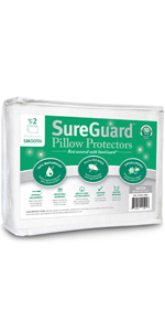 standard pillow covers waterproof