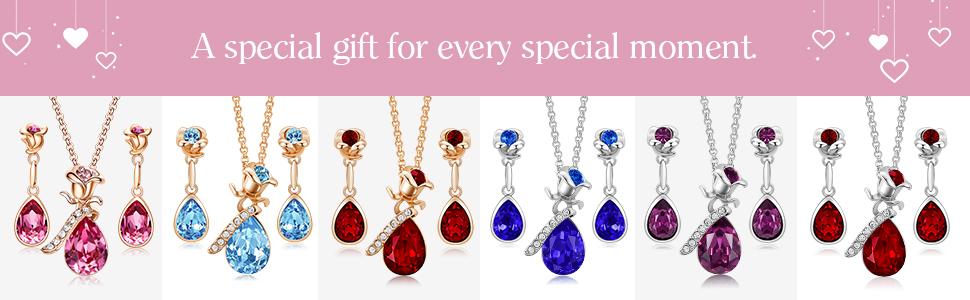 jewelry set for girlfriend   women Valentine gifts mom Valentine gifts gifts for Valentine