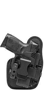 shield appendix holster iwb small comfortable backer custom molded adjustable retention toolless sig