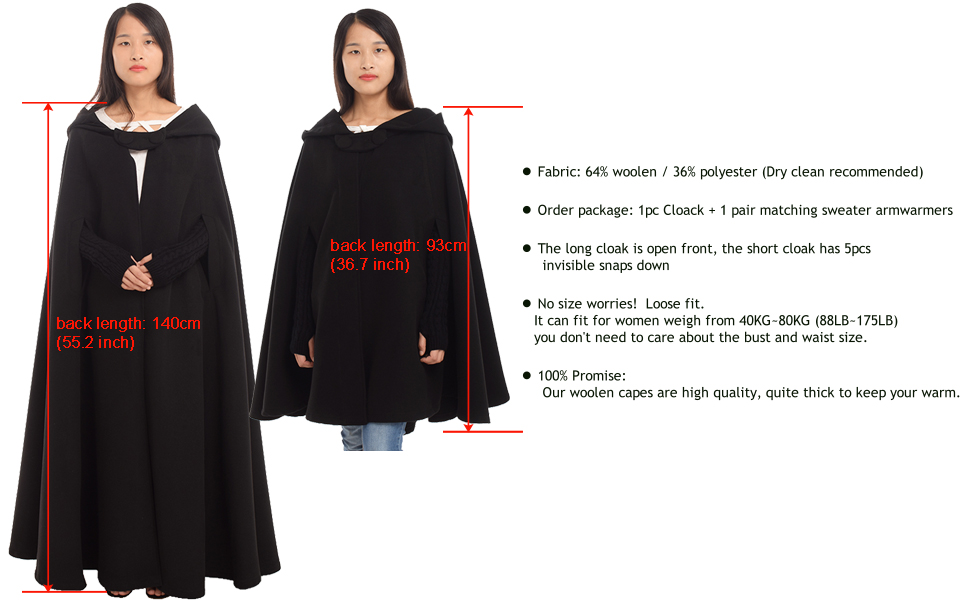 woolen cloak