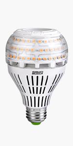 Sansi Ampoule Led Dimmable Ampoule Edison 4000 Lumen 27w
