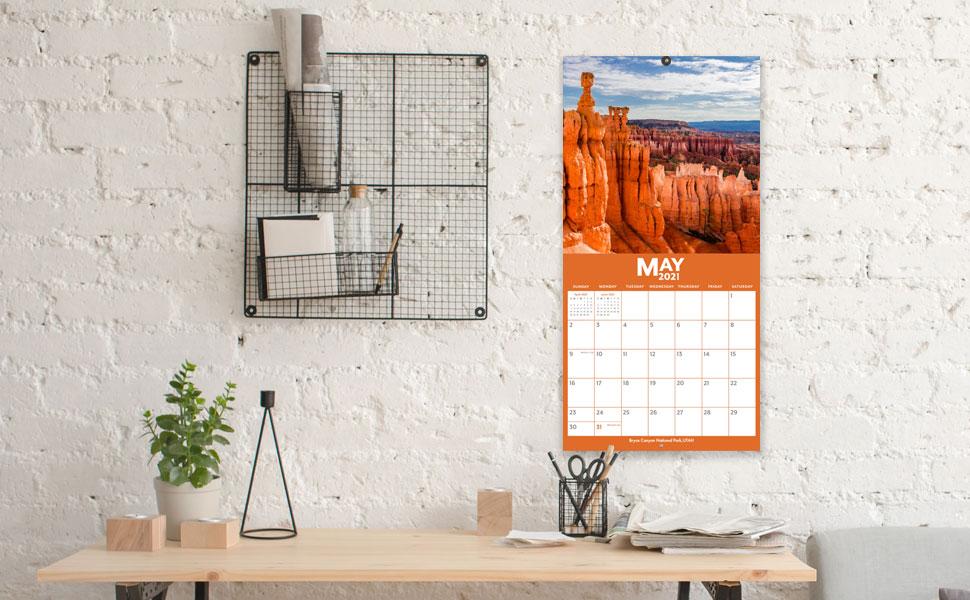 Amazon.: 2021 2022 Wall Calendar   Monthly Wall Calendar 2021