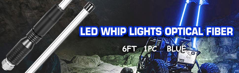 Whip It ATV UTV Quick Release Sand Dune Flag Mount Blue WHIP-FLAG-BLU