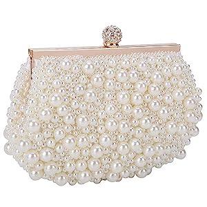 pearls clutch