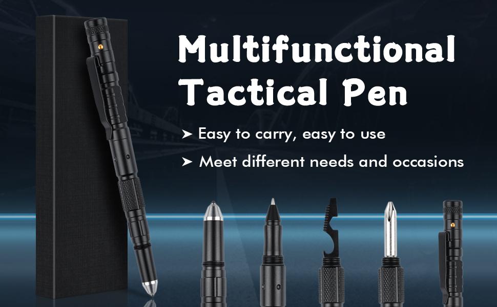 tactical pen 8 in 1