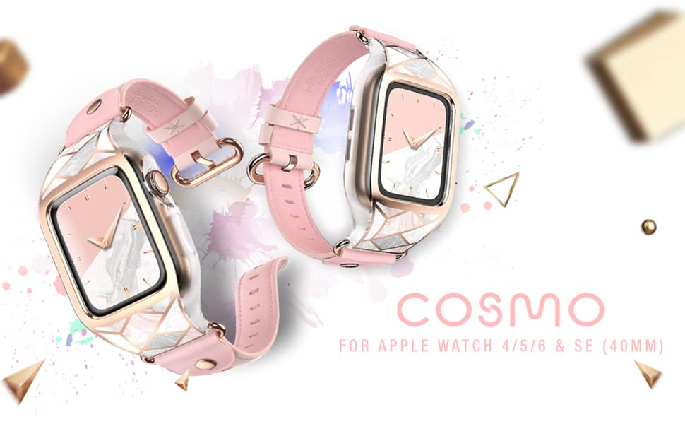 i-Blason Cosmo Case for Apple Watch Band 40mm Series 4 5 6 SE 2020