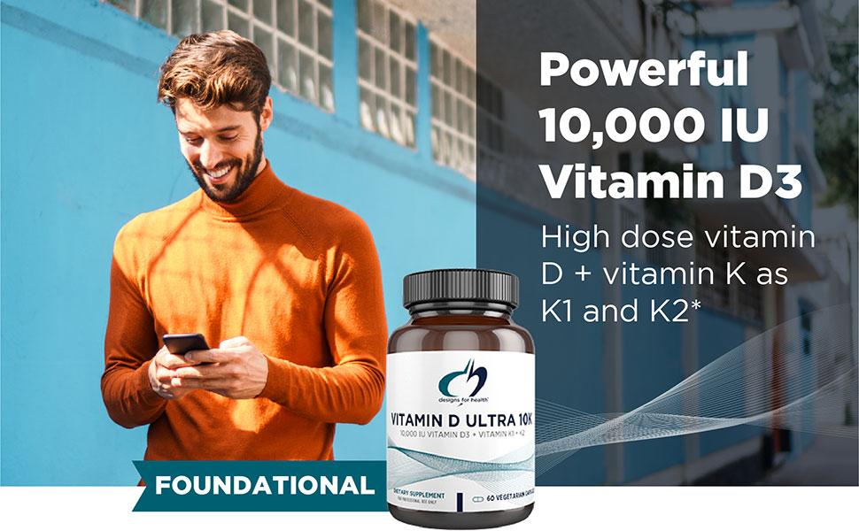 10,000 IU vitamin D
