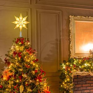christmas tree topper star