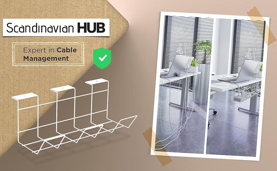 Scandinavian Hub Cable tray