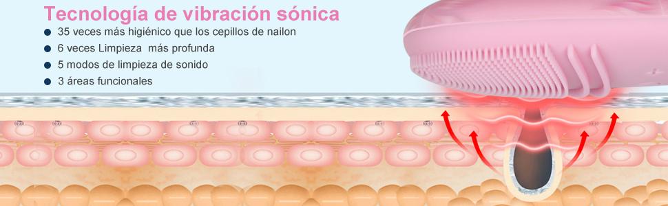 Limpiador Facial de Silicona
