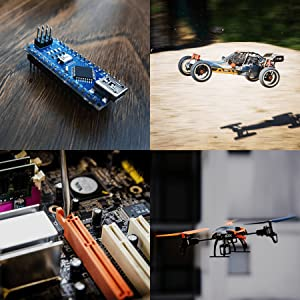 arduino projects rc cars drones guitar repair home automation remote repair