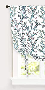 jasmine tie up curtain