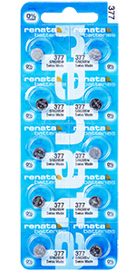 Renata Battery 377 / SR626SW