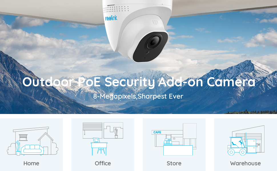 4K HD security camera