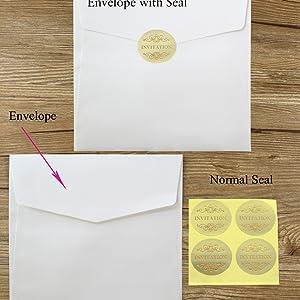 envelope size