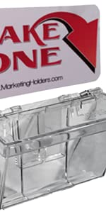 Marketing Holders Clear Outdoor Vehicle Business Card Holder
