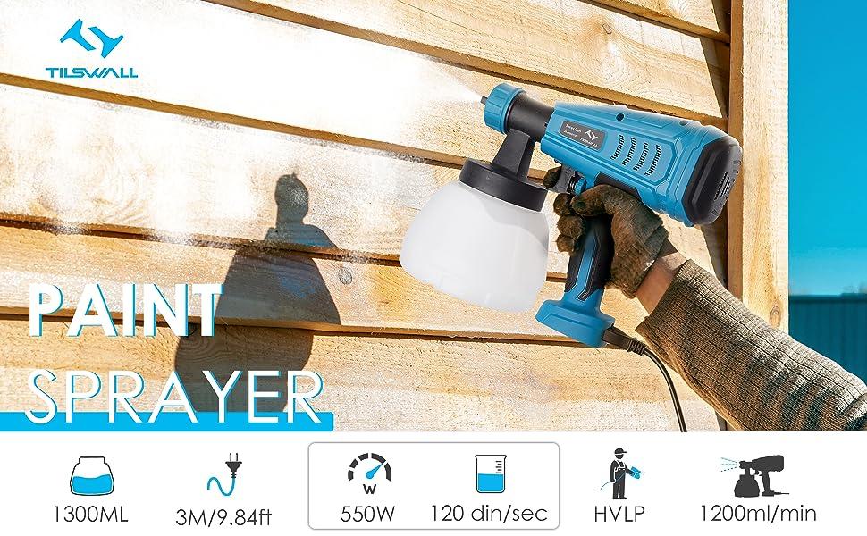 Wagner WallPerfect Spray Attachment 1300ml Pistola de pintura tama/ño: 1300ml