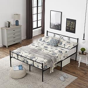 cadre de lit simple 140 * 190