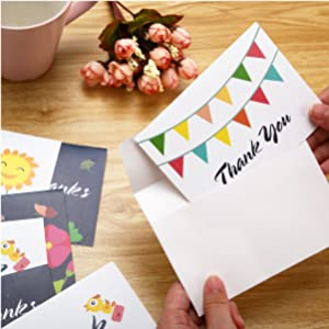 blank inside thank you cards