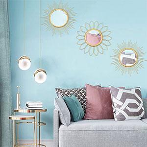 wall mounted mirrors