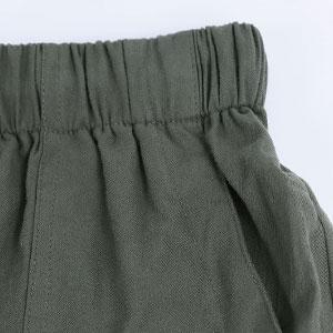 womens elastic waist shorts
