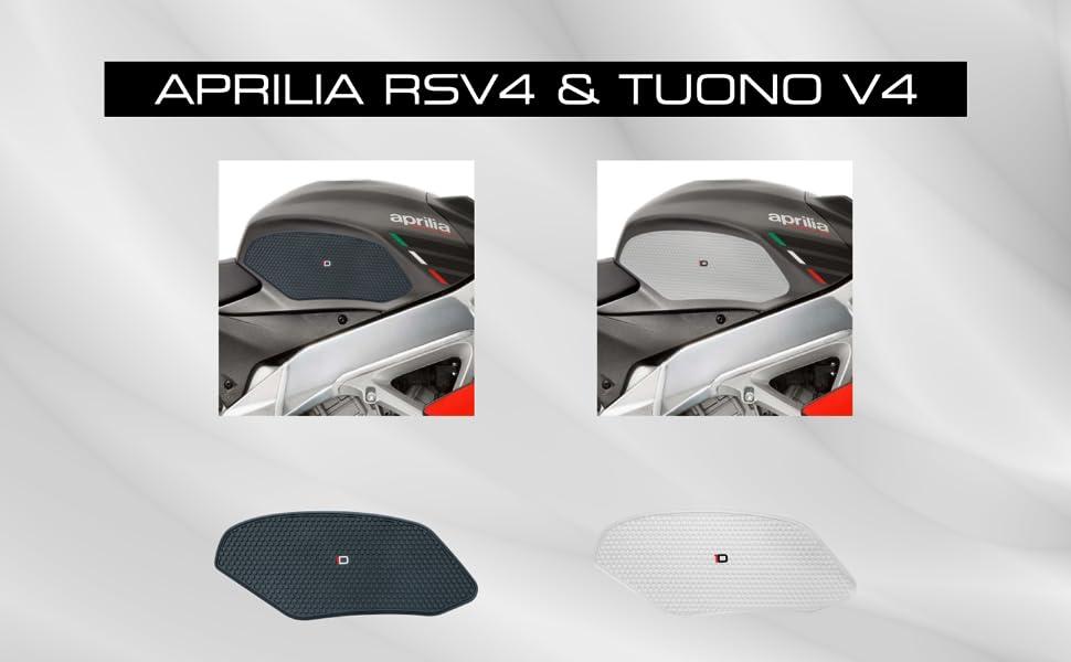 Schutzaufkleber Für Klappdeckel Rsv4 Und Tuono V4 Schwarz Auto