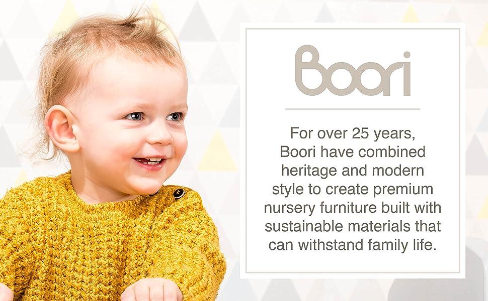 About Boori nursery furniture