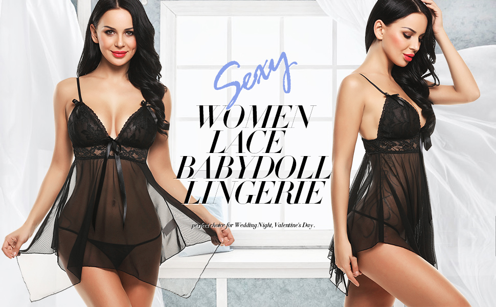 Sexy Negligee Lingerie
