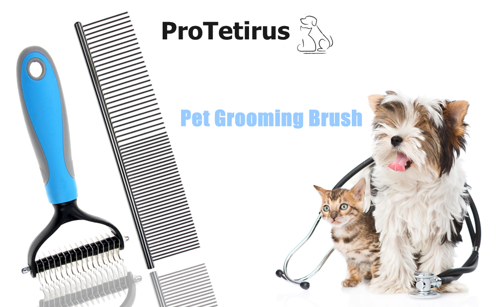 ProTetirus Pet Grooming Brush