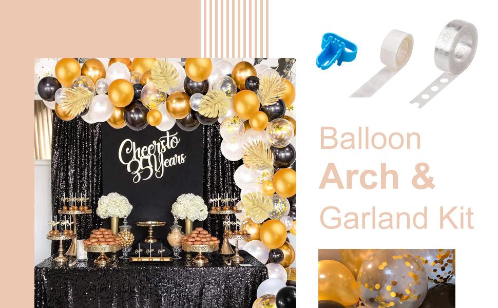 Balloon Arch & Garland Kit